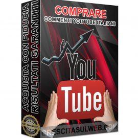 Acquistare Commenti YouTube Italiani