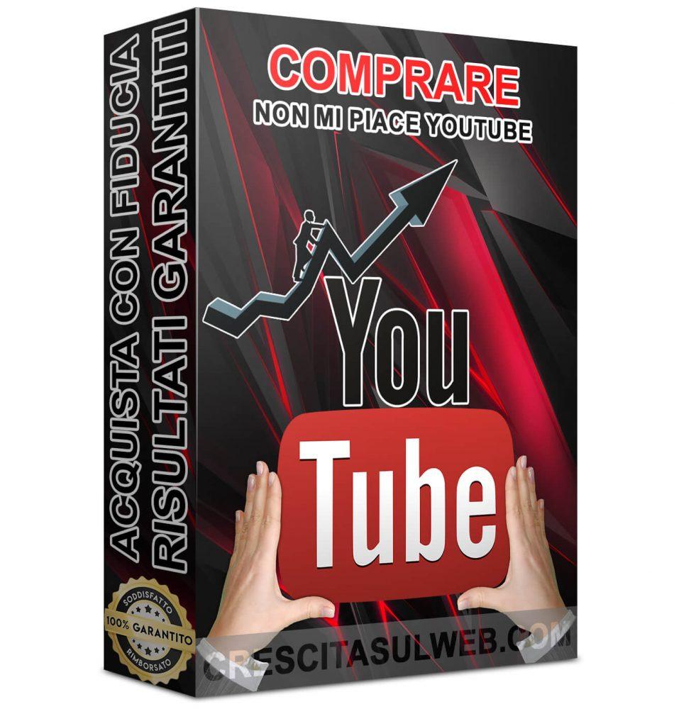 Acquistare Non mi piace YouTube