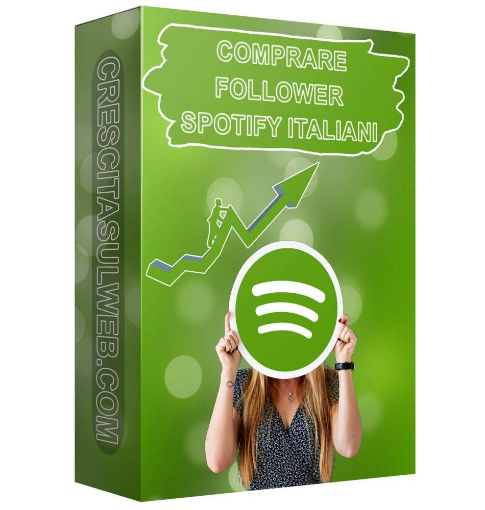 Acquistare Follower Spotify Italiani